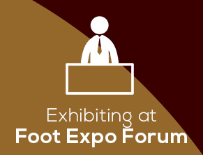 Exhibiting at foot forum expo
