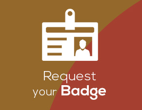 request your badge